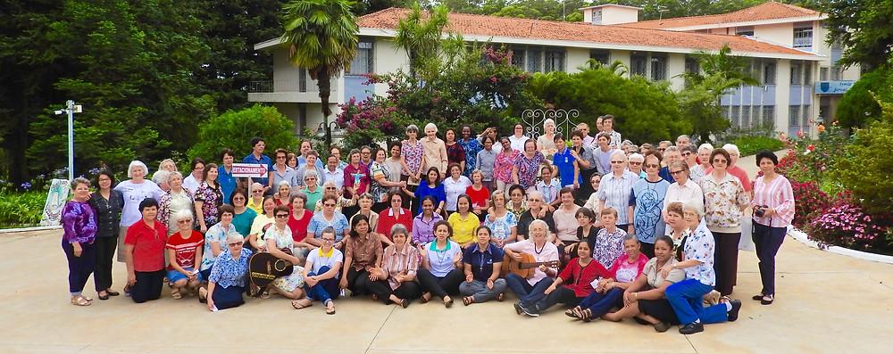 Participantes da VIII Assembleia Provincial - BRS-Sul