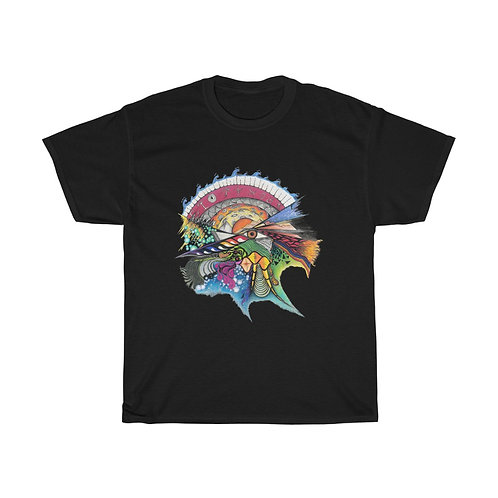 "Savage Art's ""Time"" Unisex Cotton Tee"