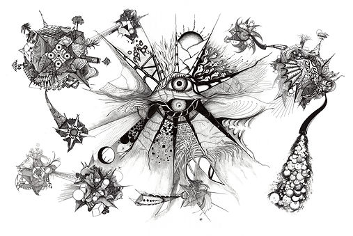 Universe with Bridges b&w 2a.jpg
