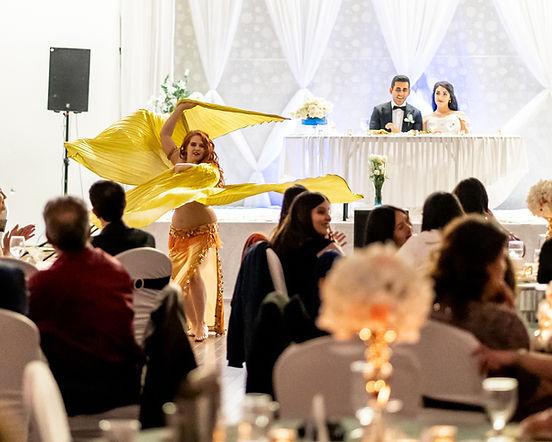wedding dancer