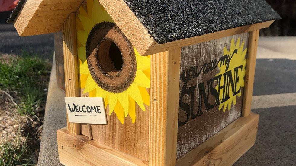 Sunshine Sunflower Signature Birdhouse