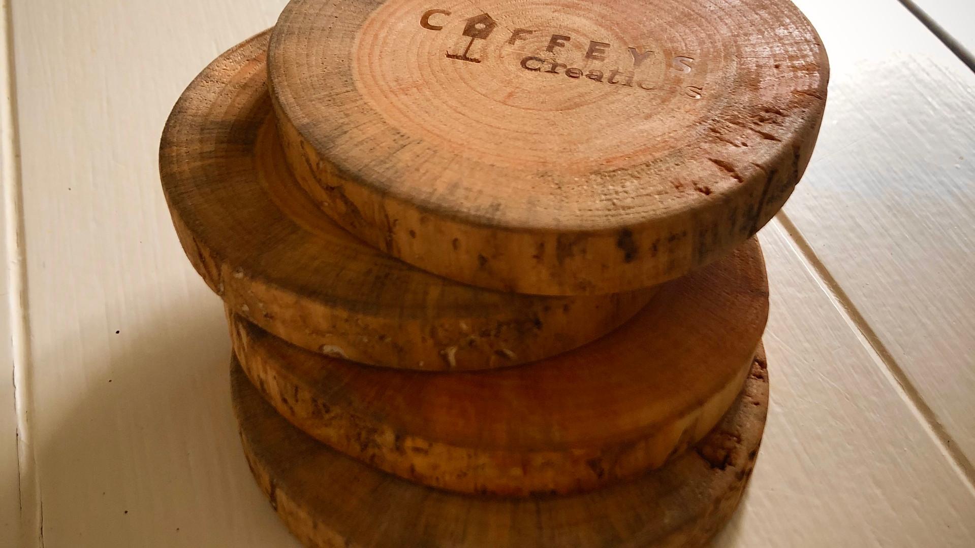 Round Pine Coasters