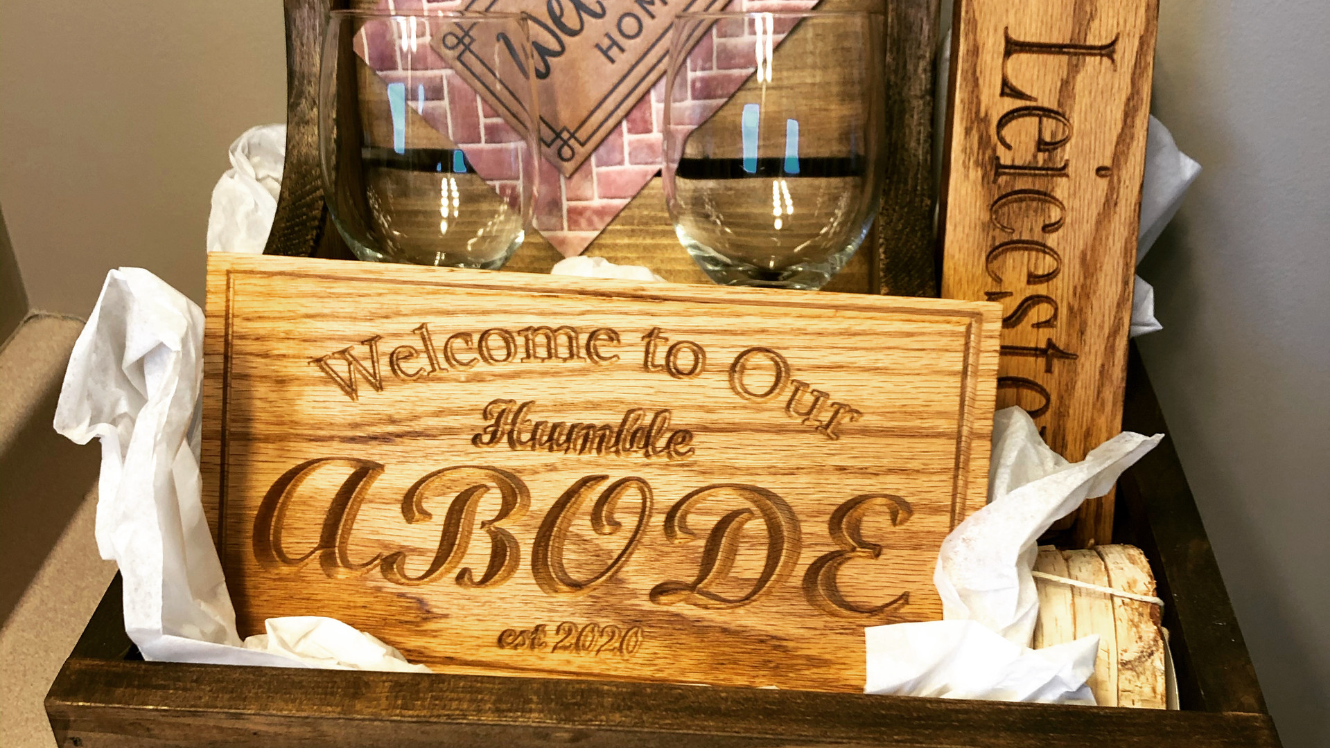 "Coffeys Creations ""Humble Abode"" Gift Basket"