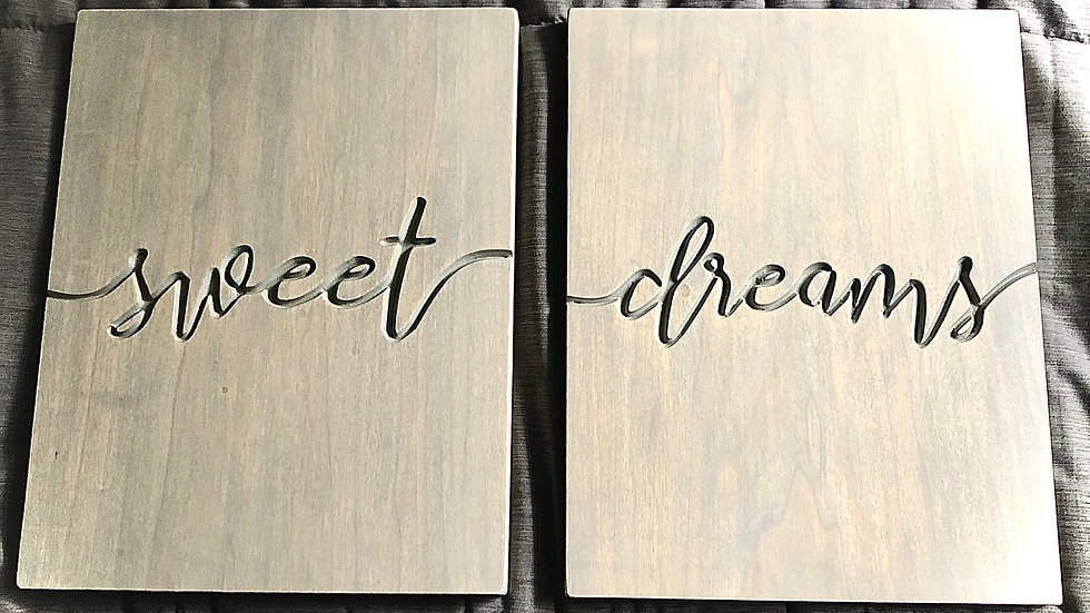 Sweet Dreams Signs