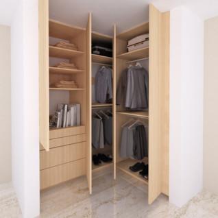 Closet color nude