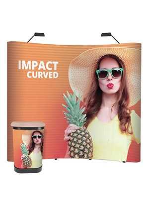 UD Impact Curved Pop-up