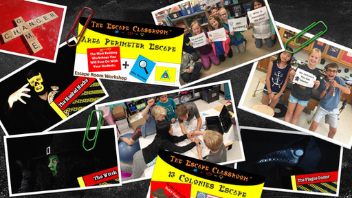 The Escape Classroom Breakout EDU