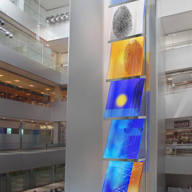 """Strolling through Soho"". Citigroup bank, Manhattan, NY"