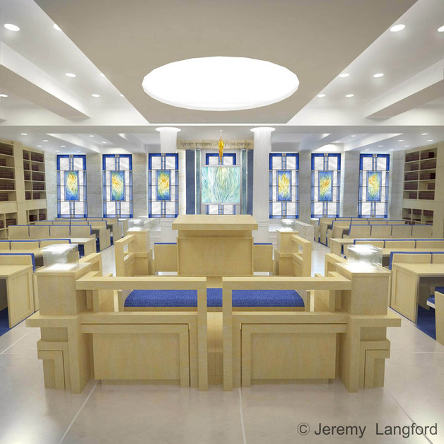 The Chemdas Yisrael Synagogue by Wall Street
