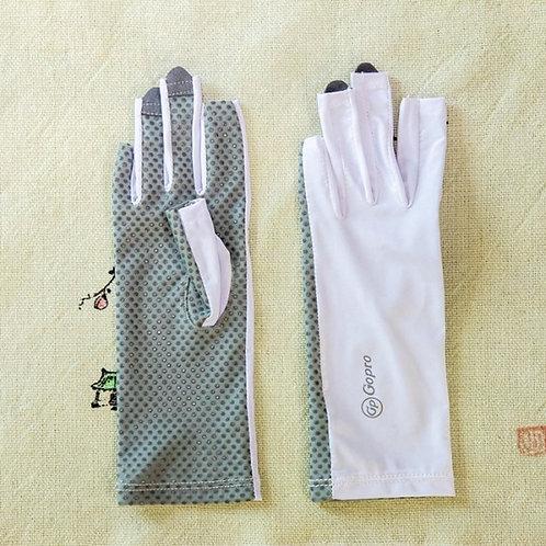 긴 손가락장갑(회색) 프리사이즈