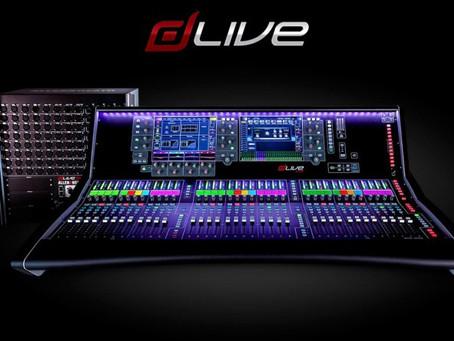 New equipment - 라이브를 위해 디자인됬다<Allen&Heath dLive digital mixer>