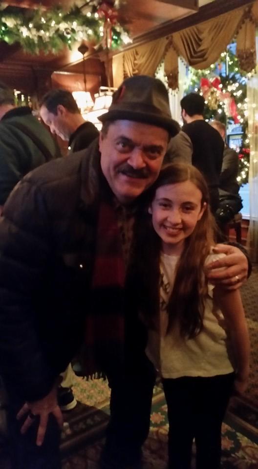 Sophia with Bill Nolte