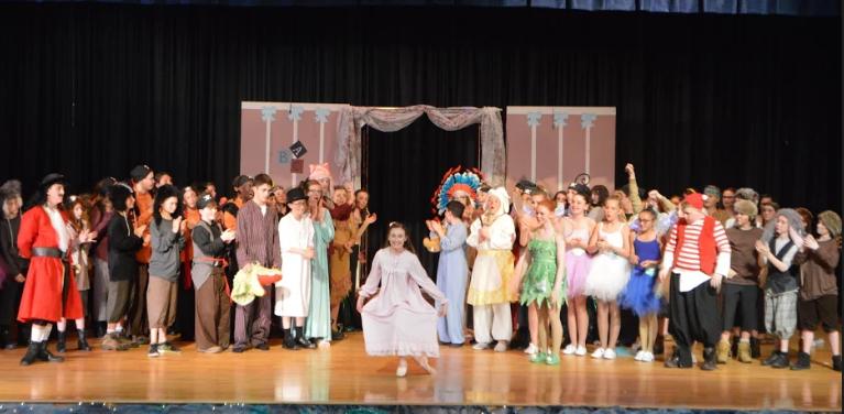 Sophia bows for Peter Pan