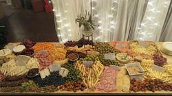 NYE Wedding Cheese Table