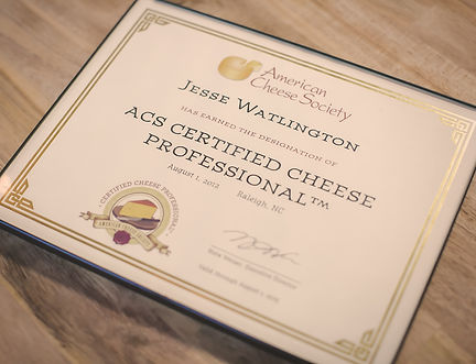 American Cheese Society Certified Cheese Professional logo