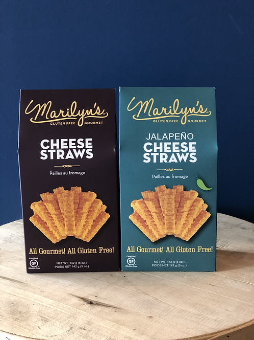Marilyn's Cheese Straws