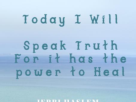Today I will #SpeakTruth