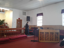 Preparations for Worship Service
