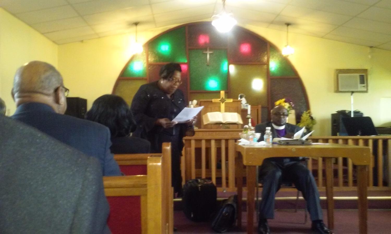 Rev Bessie Mohead
