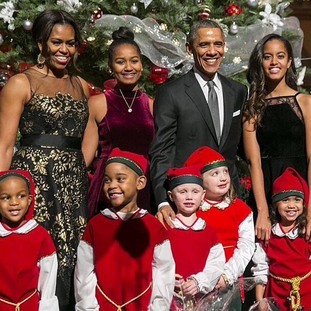 President Obama & Family 2015