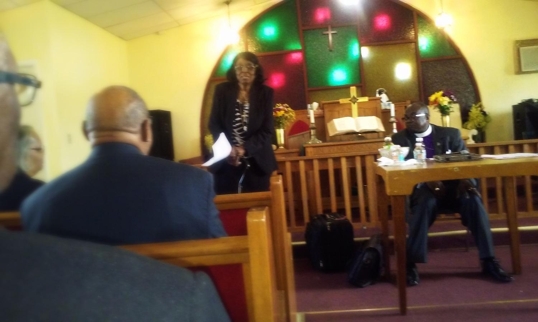Rev Dr. M.G.Mitchell