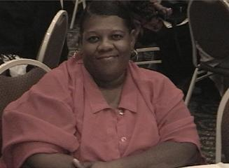 Mrs. Darlene Augustine at Banquet