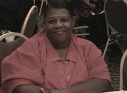 Mrs. Darlene Augustine at Banquet