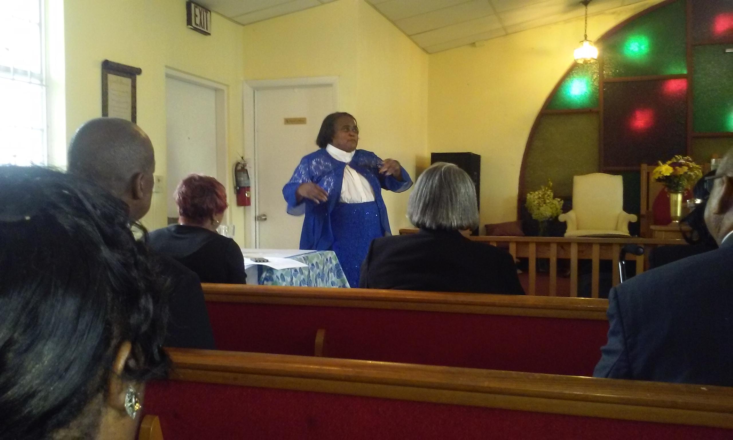 Pastor Report