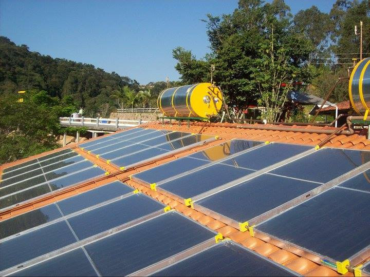 Aquecimento Solar Residencial (Boiler)