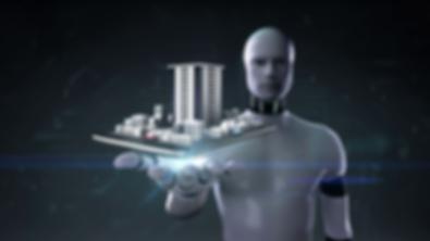 robot-cyborg-open-palm-real-estate-appli