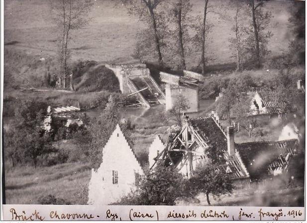 chavonne 1916 b album soldat diedrichs.J