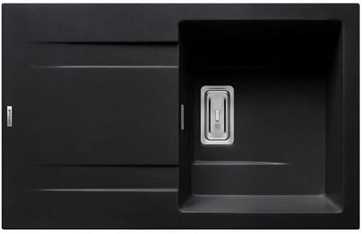 Zlewozmywak granitowy Kartesio 79x50 Carbon PYRAMIS + akcesoria PYRAMIS