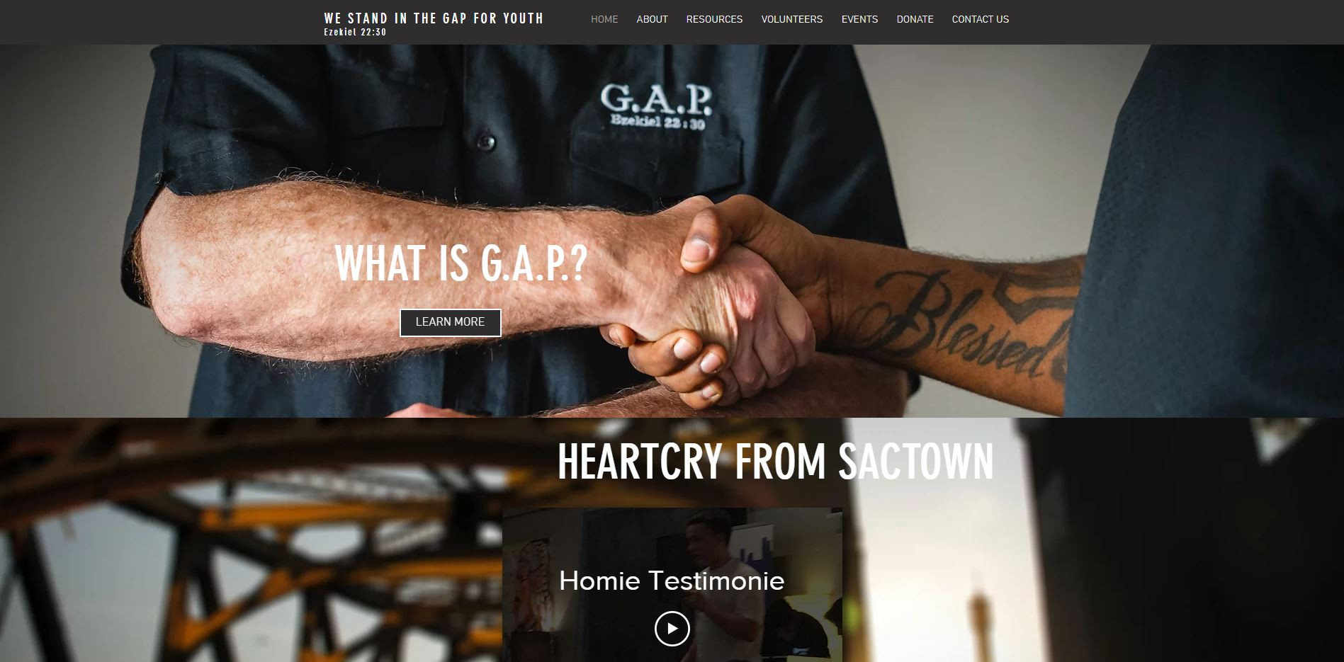 G.A.P. Website