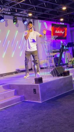 CJ Emulous preaching