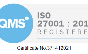 We are now ISO 27001 Certified