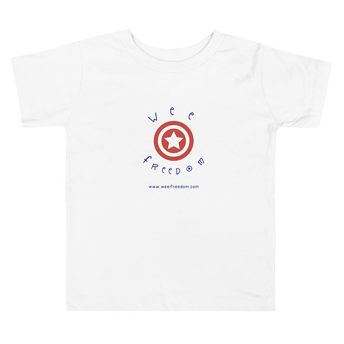 Toddler Short Sleeve Wee Freedom T
