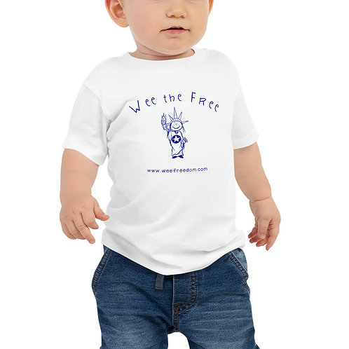 Baby 'Wee the Free' T in Blue