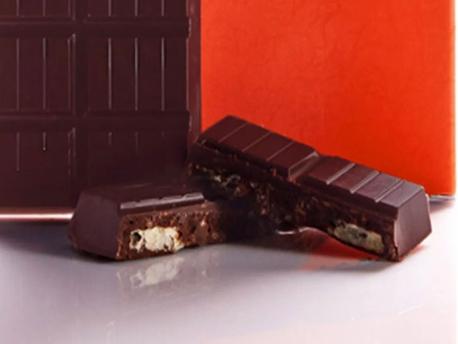 SALTY POTATO CHIPS DARK CHOCOLATE BAR: HEFTY, HEAVENLY FLAVOR DUO