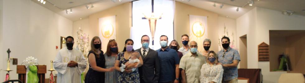 Dominguez Baptism