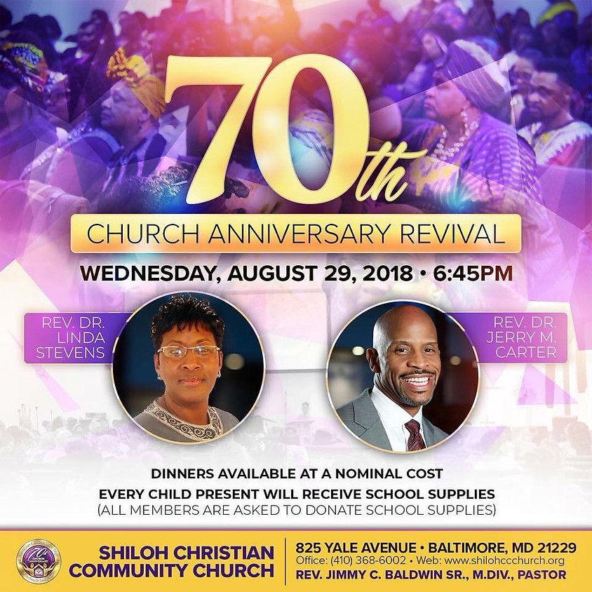 Shiloh Christian Community 70th Church Anniversry