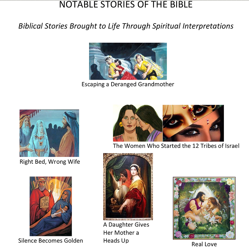 Notable Stories in the Bible