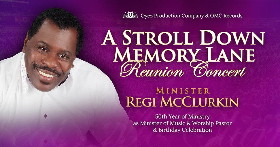 Regi McClurkin Reunion Concert