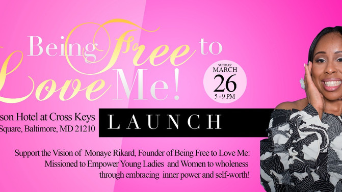 Being Free to Love Me Launch!