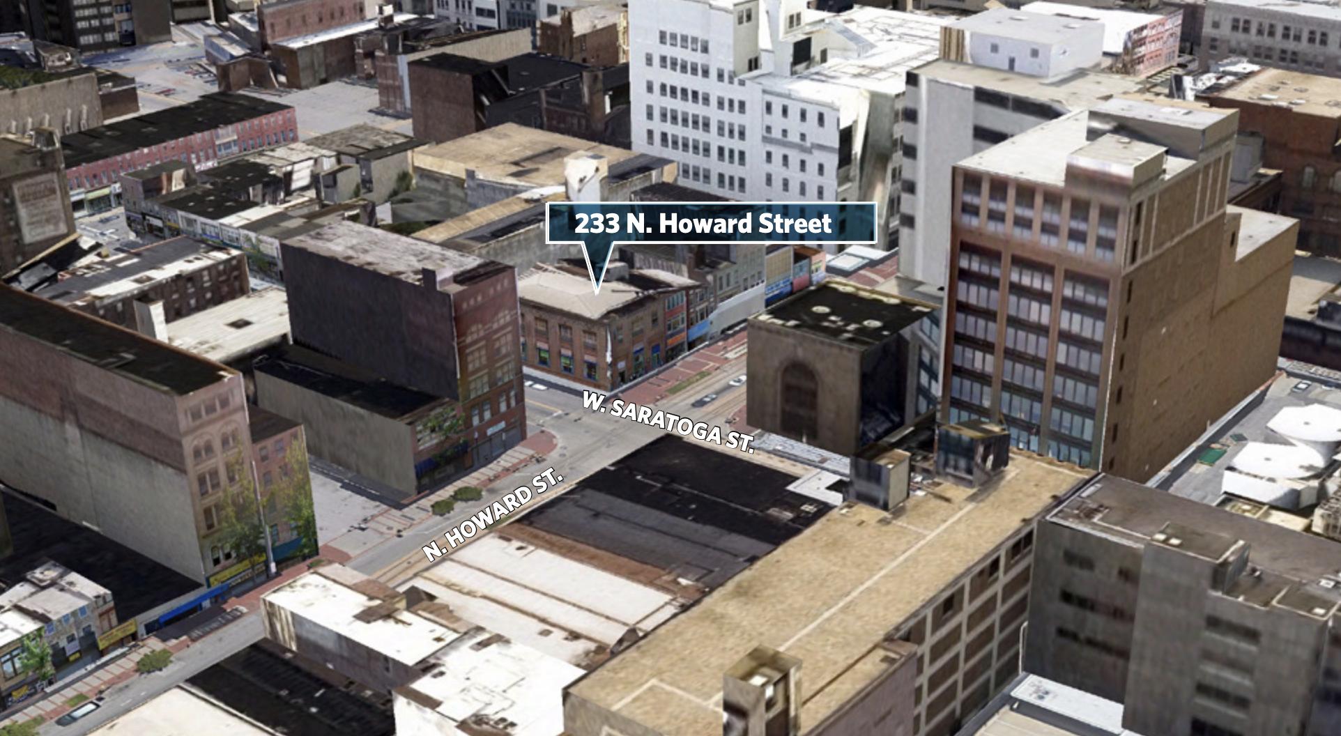 Commercial Building 3D Map