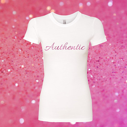 Authentic Glitter Tee