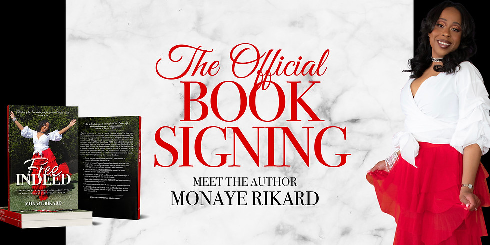 Official Free Indeed Book Signing