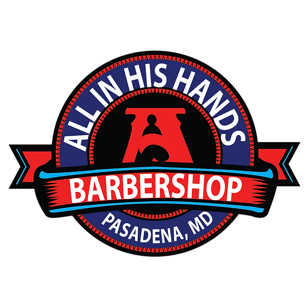 All In His Hands Logo