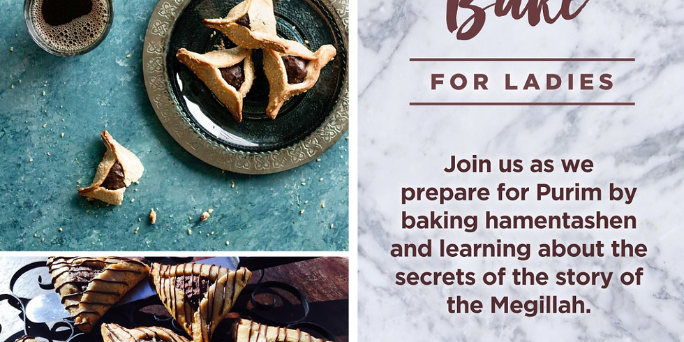 Women's Hamentash Bake