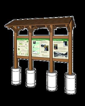 Kiosk - Three Panel (Cranberry Glades).p