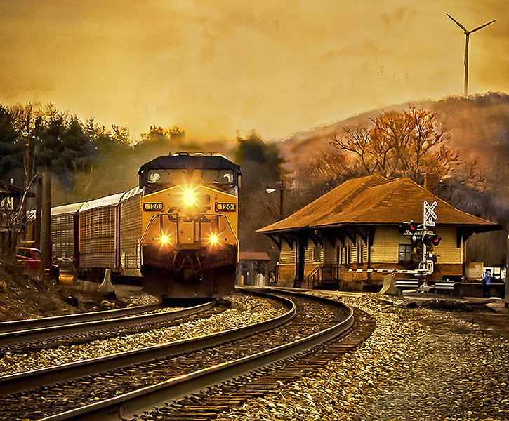 BandO Station Meyersdale (Linda Seanor).